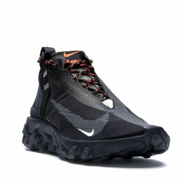 Sindicato Sin valor Patético  Nike Shoes | Nike React Runner Mid Wr Ispa Black Mens | Poshmark